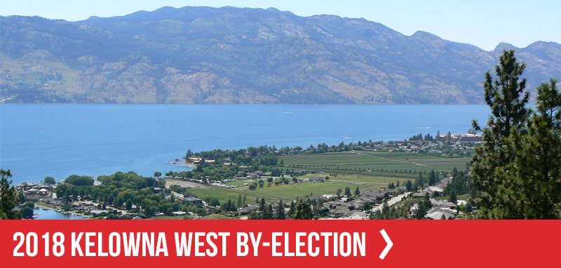 2018 Kelowna West By-election