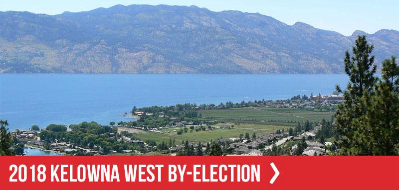 2018 Kelowna West By-election