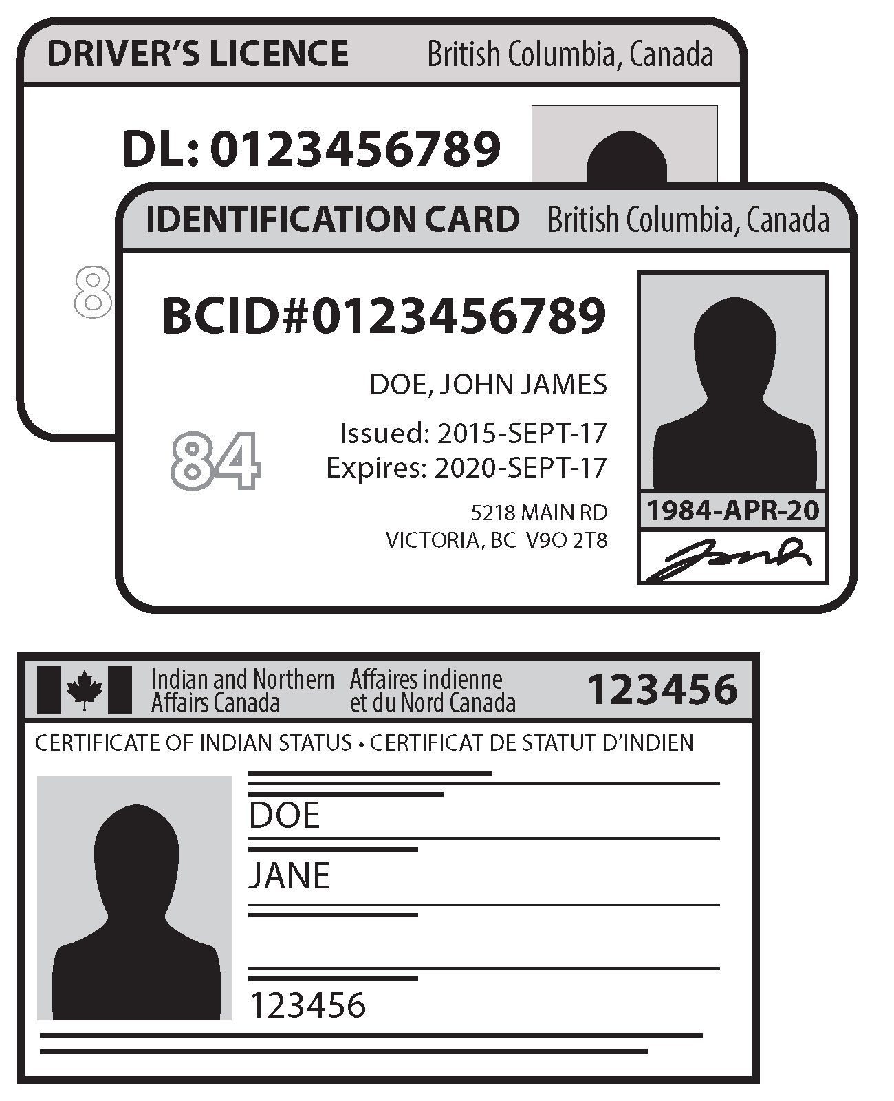 Voter id elections bc show one of these pieces of id a bc drivers licence aiddatafo Choice Image
