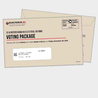 Voting package request